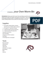 Make your Own Worm Bin - Cleveland Museum of Natural History