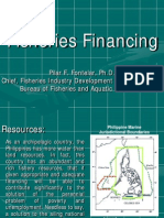 Financing Fisheries - BFAR