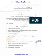 ADSP May June 2015 Question Paper