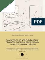 Conceções de Aprendizagem e Decisões Curriculares_1º CEB