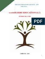 Consiliere Educationala Suport de Curs