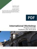 Class Descriptions IW 2015-16