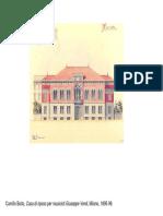 Immagini Architettura Italiana XX Secolo