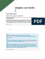 Dibujos Simples Con Turtle