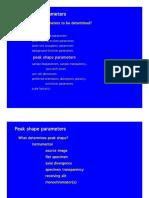 Rietveld Refinement Parameters