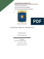 Valoracion de Coproductos - Industria Lactia