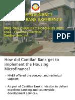 Housing MF - Cantilan Bank