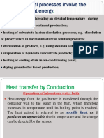 Lecture on Heat transfer and Conduction in Industrial pharmacy