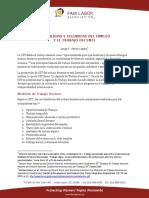 Estabilidad y Seguridad Del Empleo y El Trabajo Decente