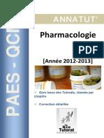 Annatut%27 UE6 Pharmacologie 2012 2013