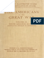 The Americans in the Great War Vol 3 - Meuse-Argonne