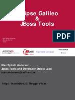 Eclipse Galileo and JBoss Tools