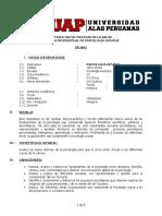 Silabus de Psicologia General 2014 II