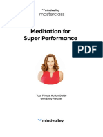 Emily Fletcher - Meditation for Super Performance Masterclass