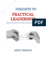 JENN CHEONG - 37 Insights to Practical Leadership