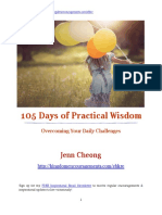 Jenn Cheong 105 - Days of Practical Wisdom