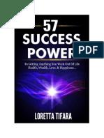 Loretta Tifara - 57 Success Power