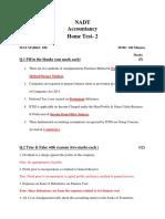Accounts Home Test 2