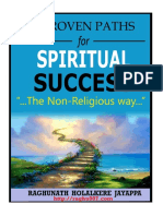 "Raghunath Holalkere Jayappa"" - 11 Proven Paths for Spiritual Success"