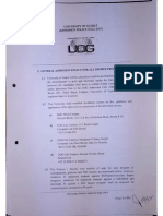 UoG Admission Policy Fall 2017
