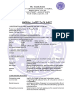 PDF MSDS Sulfated Castor Oil