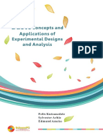 Basic Concept Ofexperimental Design