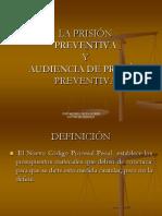 Audiencia Prision Preventiva