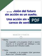 Vision y Mision (Unidad I)