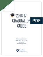 PSUCOM Graduation Guide 2016-17