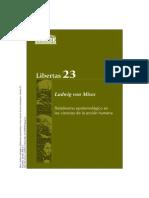 von Mises, Ludwig - Relativismo epistemológico en Las ciencias de la acción humana.pdf