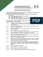 Procedimentos de Estagio no exterior - UFSC