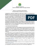 Edital Docentes IFB Retificado 8