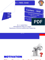 Lecture DSP Introduction