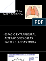 Lesion Pared Toracica