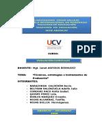 Tecnicas e Instrumentos de Evaluación