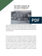 En Argentina Hubo Campos de Concentración Para Indígenas c4dbb542e