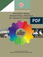 Compendium District Wise Industrial Profile of Madhya Pradesh