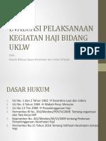 Evaluasi Haji Bidang Uklw2016
