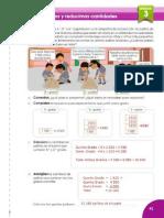 Cuaderno de Trabajo Matemática 6° PRIMARIA - MINEDU - 2017- Unidad 3 - DESARROLLADO