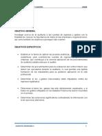 Presentar Trabajo de Auditoria II