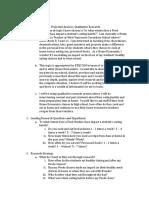 research proposal - home economics