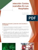 Protección Contra Incendios en Los Hospitales