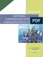 Lecturas Para La Comprensión Lectora Formación Cívica y Ética