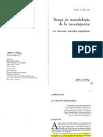 Borsotti Carlos - Temas de Metod de La Inv