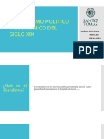Liberalismo Politico y Economico Del Siglo Xix (1)