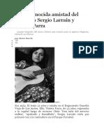 La Desconocida Amistad Del Fotógrafo Sergio Larraín y Violeta Parra