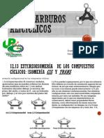 HIDROCARBUROS ALICICLICOS