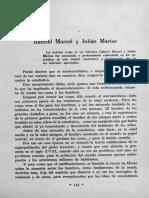C.B - Gabriel Marcel y Julian Marias