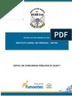 Edital Igp Tecnico Em Pericias