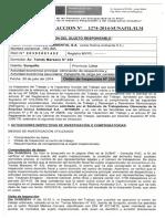 ACTA DE INFRACCION N° 1274-2014- SUNAFIL